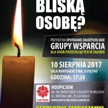 Grupa Wsparcia dla osób pozostających w żałobie – zapraszamy na spotkanie