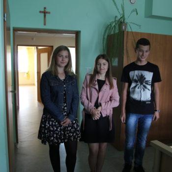 Podziękowanie dla Szkolnego Koła Caritas Zespołu Szkół w Górnie