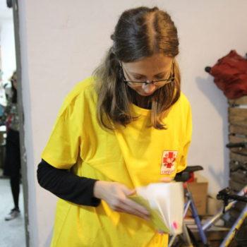 Wolontariusze Hospicjum na Zupie na Plantach