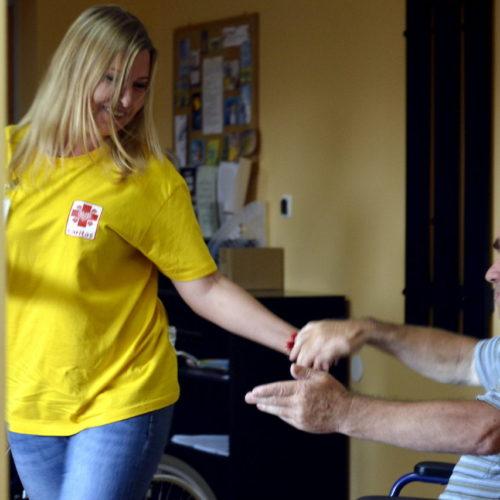 Caritas Diecezji Kieleckiej organizuje szkolenia dla kandydatów na wolontariuszy hospicyjnych