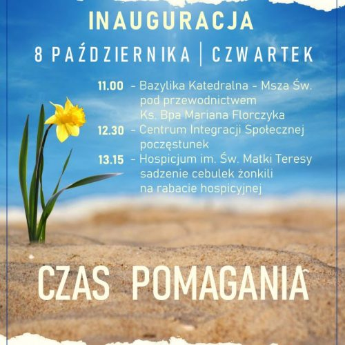 Zapraszamy na inaugurację Pól Nadziei