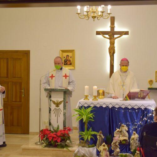 Msza św. w intencji personelu i podopiecznych Hospicjum w Kielcach