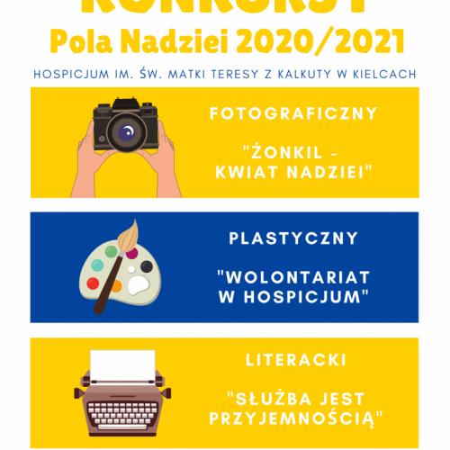 Konkursy w ramach akcji Pola Nadziei 2020/2021