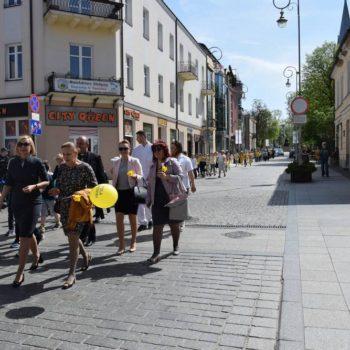 Marsz Żonkila przeszedł przez Kielce