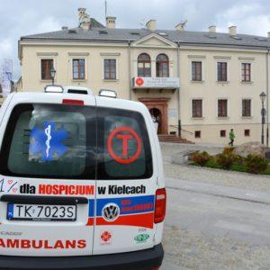 Nowy ambulans dla Hospicjum w Kielcach