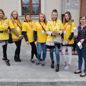 Pracownicy Świętokrzyskiego Urzędu Wojewódzkiego wsparli Pola Nadziei