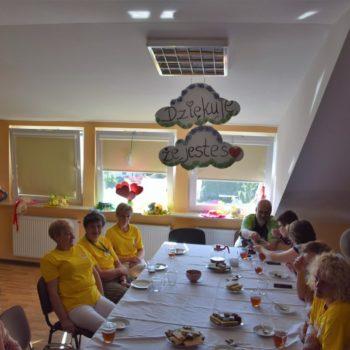O św. Matce Teresie z wolontariuszami w Hospicjum